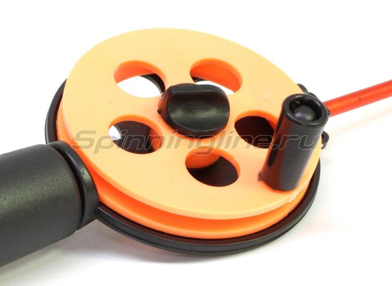 Удочка зимняя Три Кита Профи УП-1 ПЛ оранжевая поликарбонат -  2