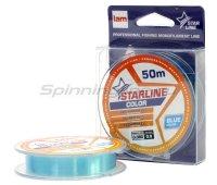 Леска Starline 50м 0,105мм blue