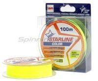 Леска Starline 100м 0,148мм fluo yellow
