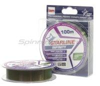 Леска Starline Infinity 100м 0,148мм chameleon green