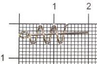Крепление для силиконовых приманок Akkoi Snap SL03-6