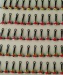Lumicom - Тройник с фосфорной каплей 27-K (крючок 12 asacura) - фотография 1