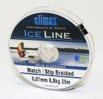 Climax - Шнур Match/Stip Braided Ice 25м 0.10мм - фотография 2