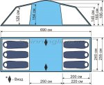 World of Maverick - Палатка кемпинговая быстросборная Tourer 400 - фотография 2