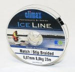Climax - Шнур Match/Stip Braided Ice 25м 0.08мм - фотография 1