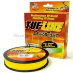 Tuf-Line - Шнур Dura Cast yellow 114м 0,08мм/0,10мм - фотография 1