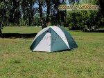 World of Maverick - Палатка туристическая быстросборная Bike 2 цвет зеленый-св. серый - фотография 2