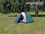 World of Maverick - Палатка туристическая быстросборная Bike 2 цвет зеленый-св. серый - фотография 3