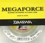 Daiwa - Леска Megaforce Super Strong 135м 0, 12мм - фотография 1