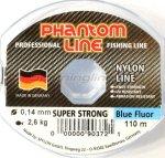 Phantom Line - Леска Strong Blue Fluo 110м 0,25мм - фотография 1