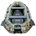 Лодка ПВХ HDX Sirena 240 зелёный камуфляж - фотография 2
