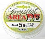 Sunline - Шнур Troutist Area PE 75м 0.2 - фотография 1