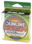 Sunline - Шнур Momentum 150м 0.260мм fluo yellow 2 - фотография 1