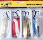 Williams - Набор из 4-х блесен W60 - фотография 1