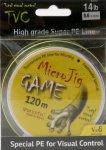 Mystic - Шнур MicroJig Game 120м 0.4 - фотография 1