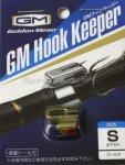 Держатель крючка на удилище Golden Mean Hook Keeper Gold S - фотография 1