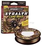 Spiderwire - Шнур Stealth 110м 0,12мм Camo - фотография 1