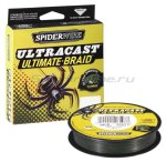 Spiderwire - Шнур Ultra Cast 8 Carrier Ultimate Braid Green 110м 0.35мм - фотография 1