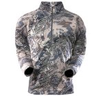 Sitka - Рубашка Merino Core Zip-T Open Country р. L - фотография 1