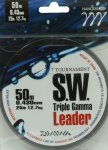 Поводковый материал Daiwa Tournament Triple Gamma SW 0.62мм 50м - фотография 2