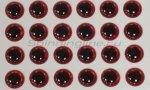 Stinger - Глазки 3D Eyes 4мм red - фотография 1