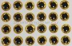 Stinger - Глазки 3D Eyes 6мм yellow - фотография 1