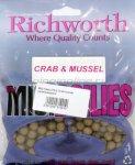 Richworth - Бойлы Midi 10мм 270гр Crab/mussel (краб/ракушка) - фотография 1