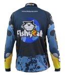 Fishycat - Футболка с длинным рукавом Tomcat Style Dark Blue T-Shirt L - фотография 2