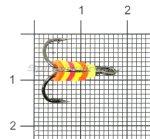 Левша-НН - Тройник-подвеска с приманкой №8 - фотография 1