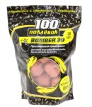 Прикормка 100 поклевок Bomber-30 Клубника - фотография 1