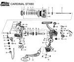 Abu Garcia - Катушка Cardinal STX 60 FD - фотография 8